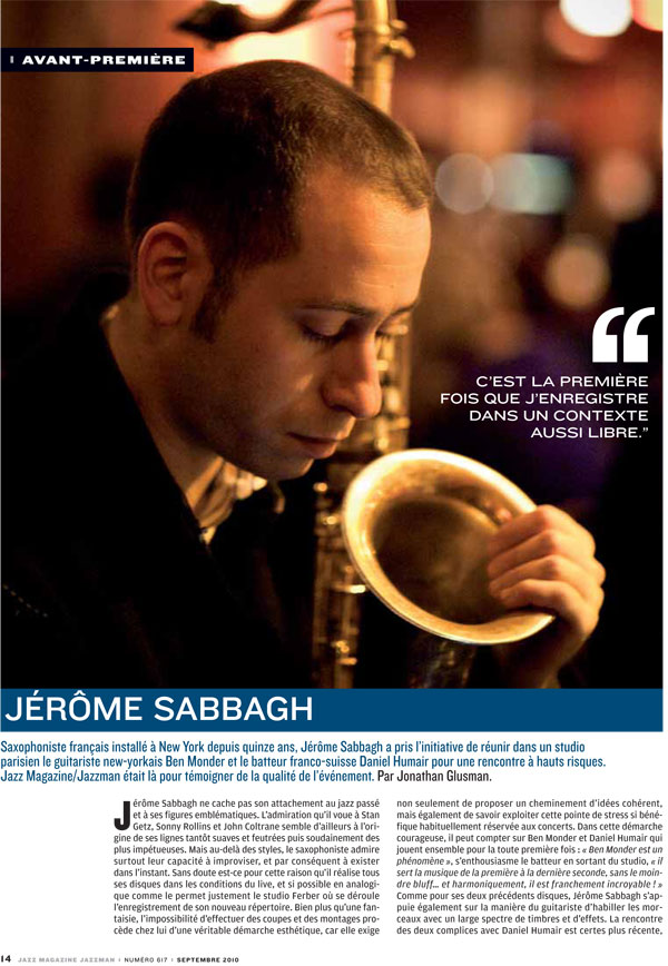 Scan I_Will_Follow_You_JazzMag_Sep2010